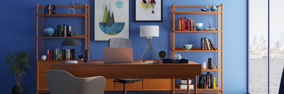 office, desk, chair
